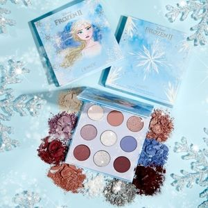 Colourpop Makeup - ❄💙Frozen 2 Elsa × Colourpop Palette / Lipstick💙❄